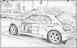 Imprimer le coloriage : Subaru, numéro 276967
