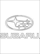 Imprimer le coloriage : Subaru, numéro 449923