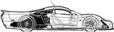 Imprimer le coloriage : Suzuki, numéro 148374