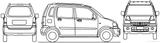 Imprimer le coloriage : Suzuki, numéro 174037