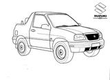 Imprimer le coloriage : Suzuki, numéro 944712da