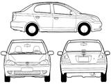 Imprimer le coloriage : Toyota, numéro 148417