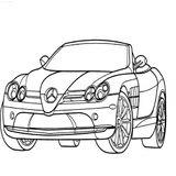 Imprimer le coloriage : Toyota, numéro 76b7eee6