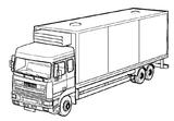 Imprimer le coloriage : Volvo, numéro 138965