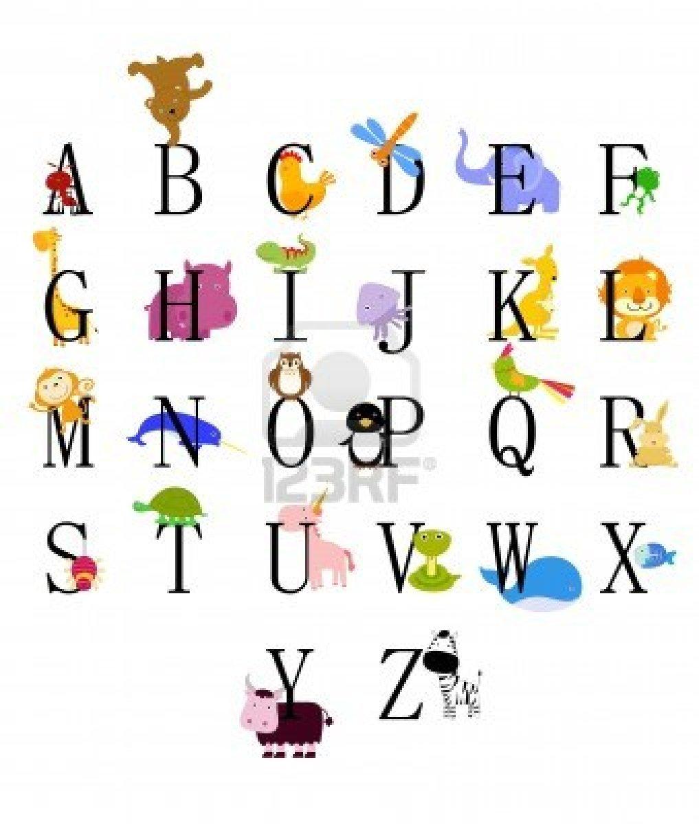 Coloriage Alphabet Animaux Imprimer.Dessins En Couleurs A Imprimer Animaux Numero 116623