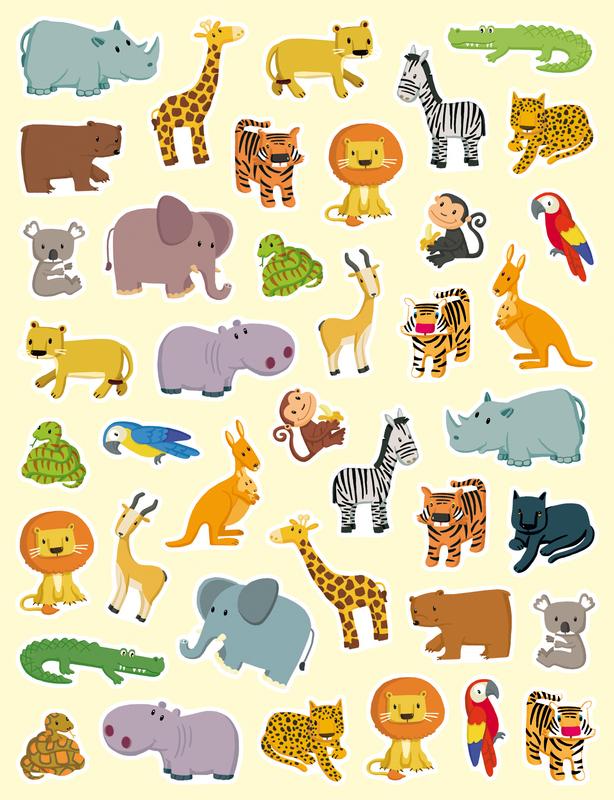 Dessins En Couleurs A Imprimer Animaux Carnivores Numero 158441