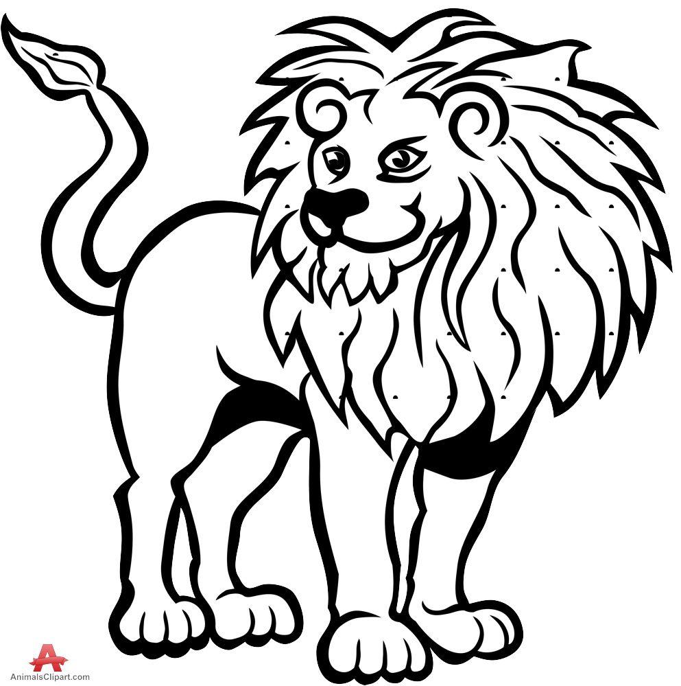 Coloriages à imprimer : Lion, numéro : ec1d85d7