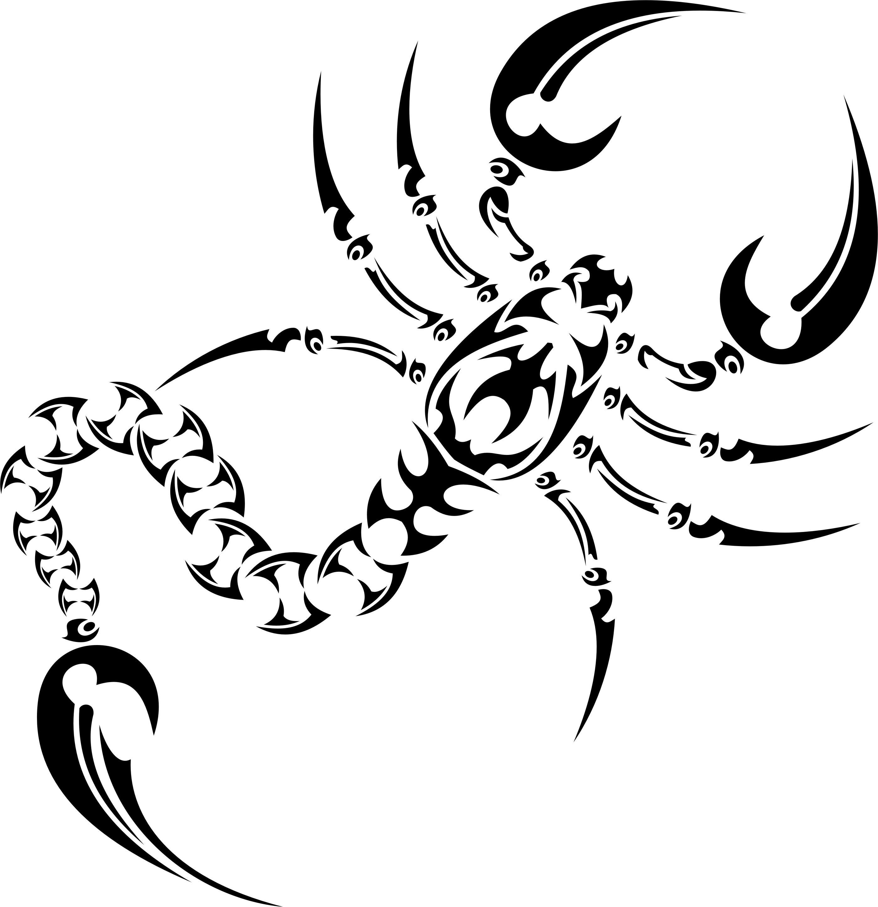 Coloriages à imprimer : Scorpion, numéro : 15189ff3