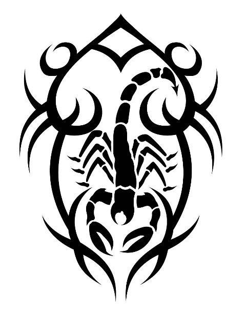 Coloriages à imprimer : Scorpion, numéro : 244478