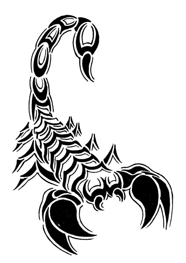Coloriages à imprimer : Scorpion, numéro : 24605