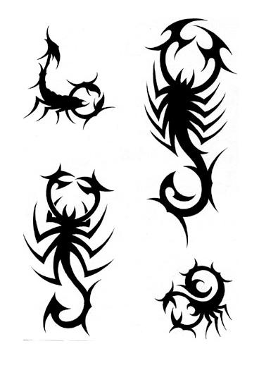 Coloriages à imprimer : Scorpion, numéro : 24614
