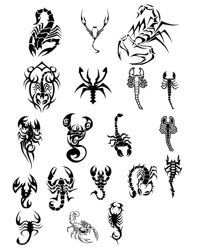 Coloriages à imprimer : Scorpion, numéro : 563404
