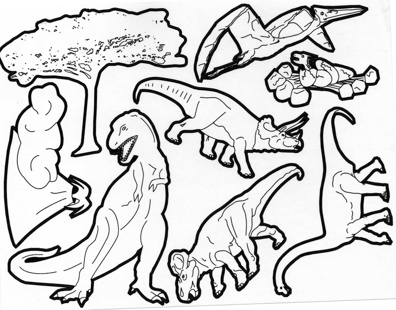 Coloriages à imprimer : T-rex, numéro : b0ed7dc8