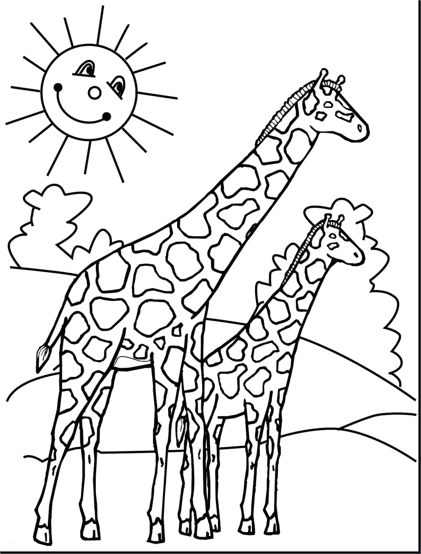 Coloriages à imprimer : Girafe, numéro : 6f018868