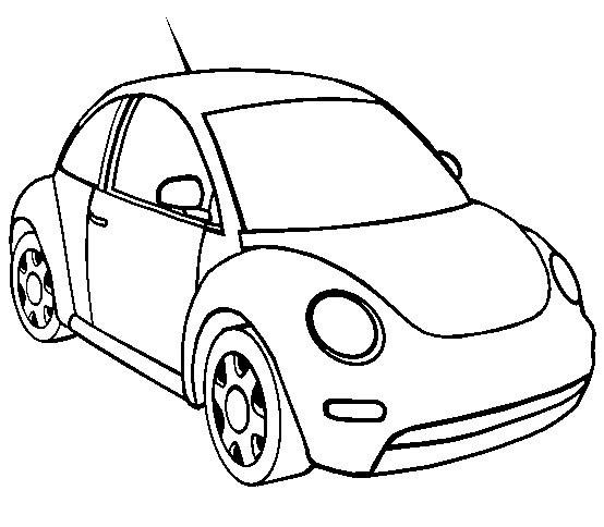 Coloriage Coccinelle Volkswagen.Coloriages A Imprimer Coccinelle Numero 25697