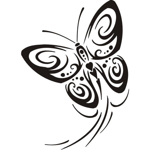 Dessins En Couleurs A Imprimer Papillon Numero 22772