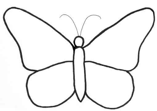 Coloriages à imprimer : Papillon, numéro : 268296