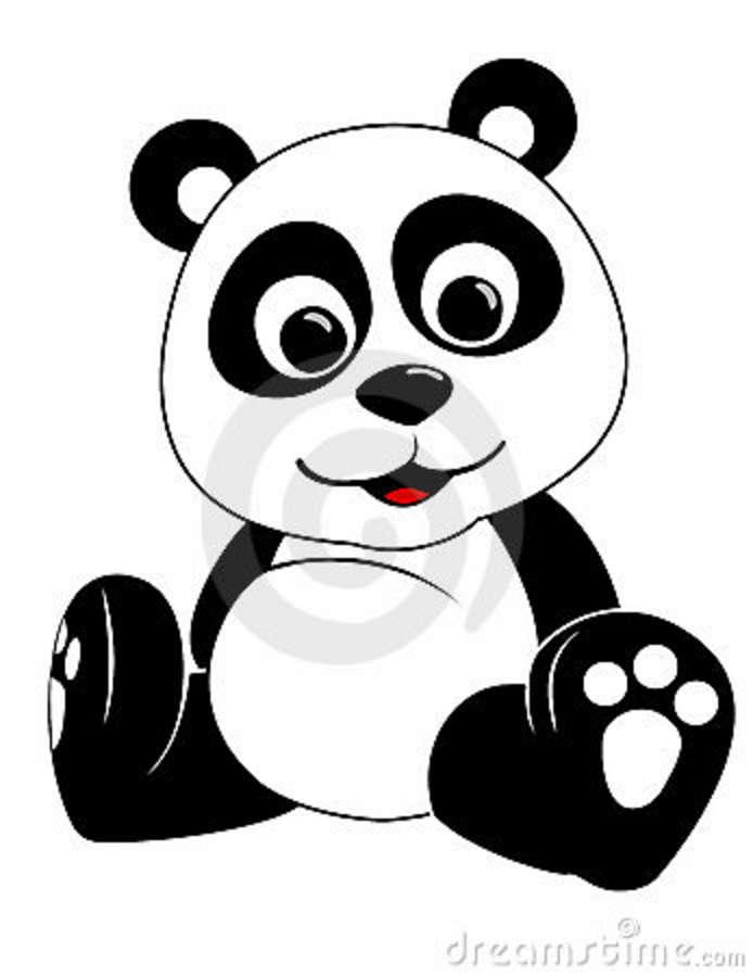 Coloriages à imprimer : Panda, numéro : 398065