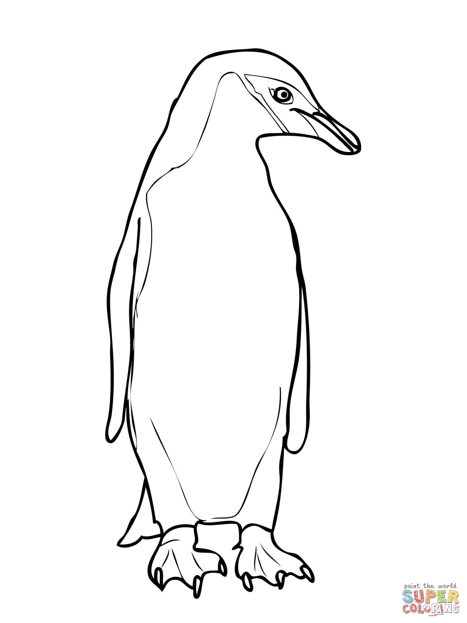 Coloriages à imprimer : Pinguoin, numéro : 1a05c8ab