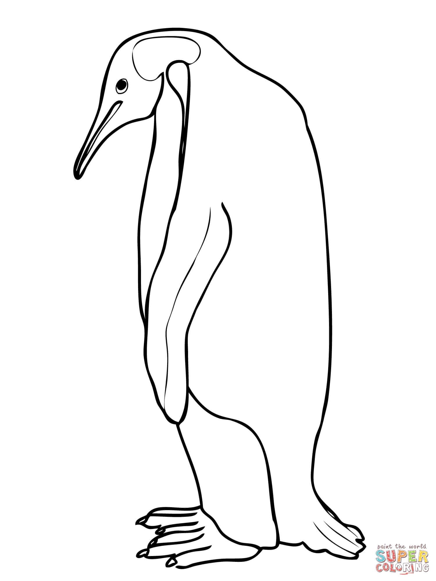Coloriages à imprimer : Pinguoin, numéro : 1e2646e6