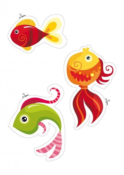 Dessins en couleurs à imprimer : Poisson, numéro : 156678