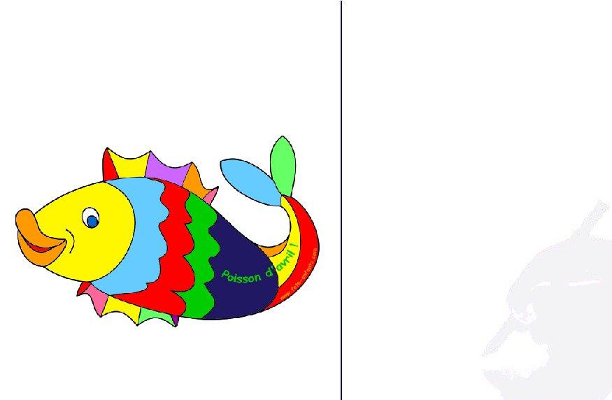 Dessins en couleurs à imprimer : Poisson, numéro : 21470