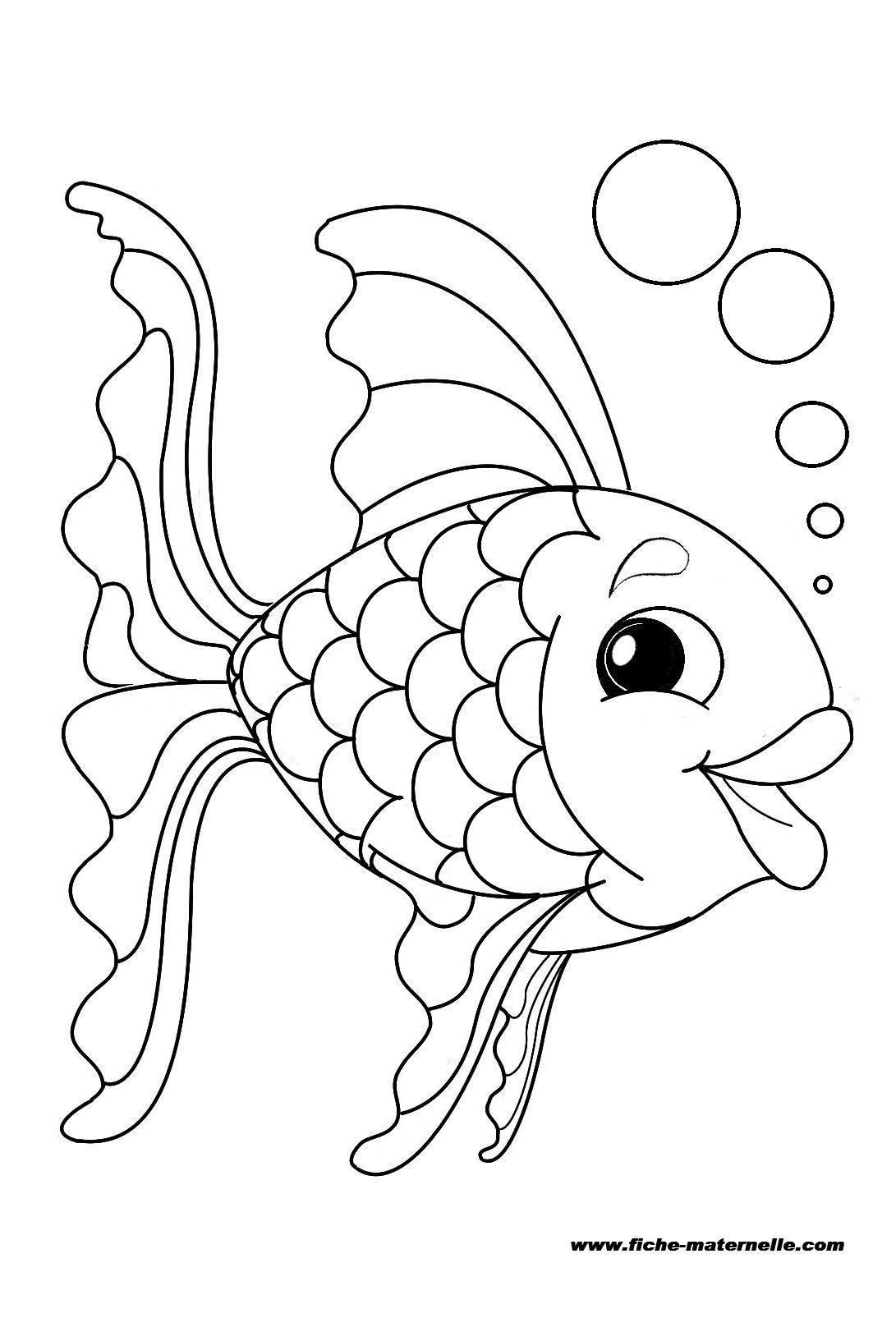 Coloriages à imprimer : Poisson, numéro : 228488