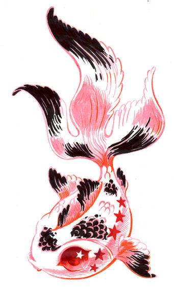 Dessins en couleurs à imprimer : Poisson, numéro : 23441