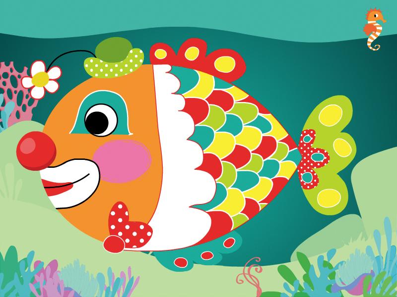 Dessins en couleurs à imprimer : Poisson, numéro : 69894