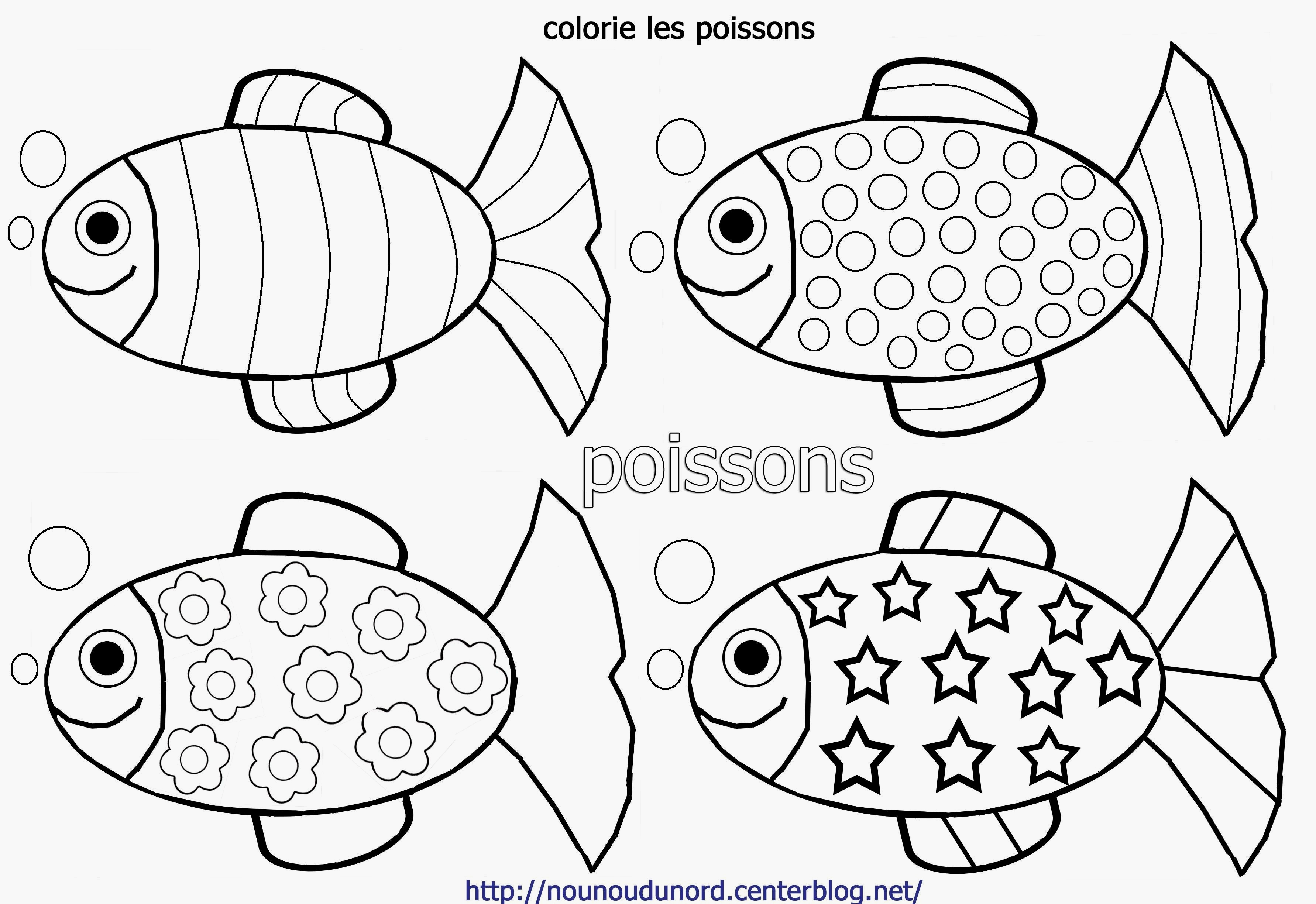 Coloriages A Imprimer Poisson Numero 80076757