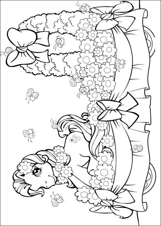 Coloriages à imprimer : Poney, numéro : 128874