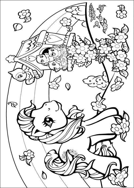 Coloriages à imprimer : Poney, numéro : 146201
