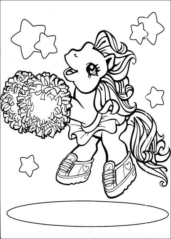 Coloriages à imprimer : Poney, numéro : 146205