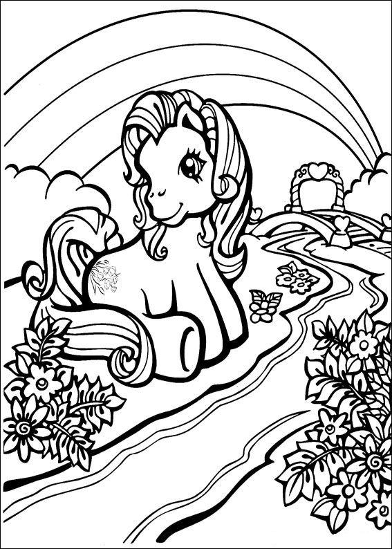 Coloriages à imprimer : Poney, numéro : 146206