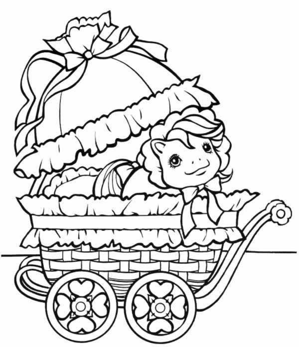 Coloriages à imprimer : Poney, numéro : 163422