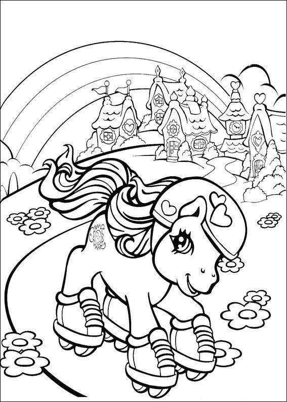 Coloriages à imprimer : Poney, numéro : 163424