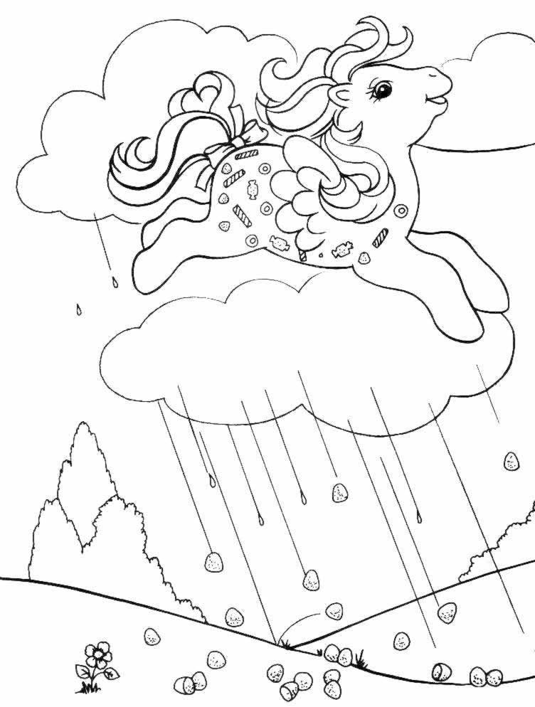 Coloriages à imprimer : Poney, numéro : 18181