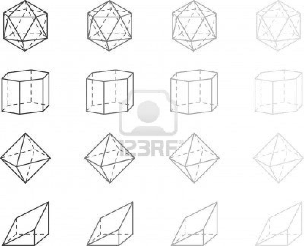 Coloriages à imprimer : Chiffres et formes, numéro : 113281