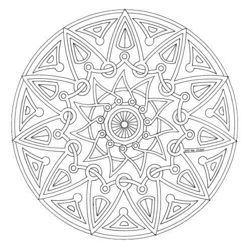Coloriages à imprimer : Chiffres et formes, numéro : 86