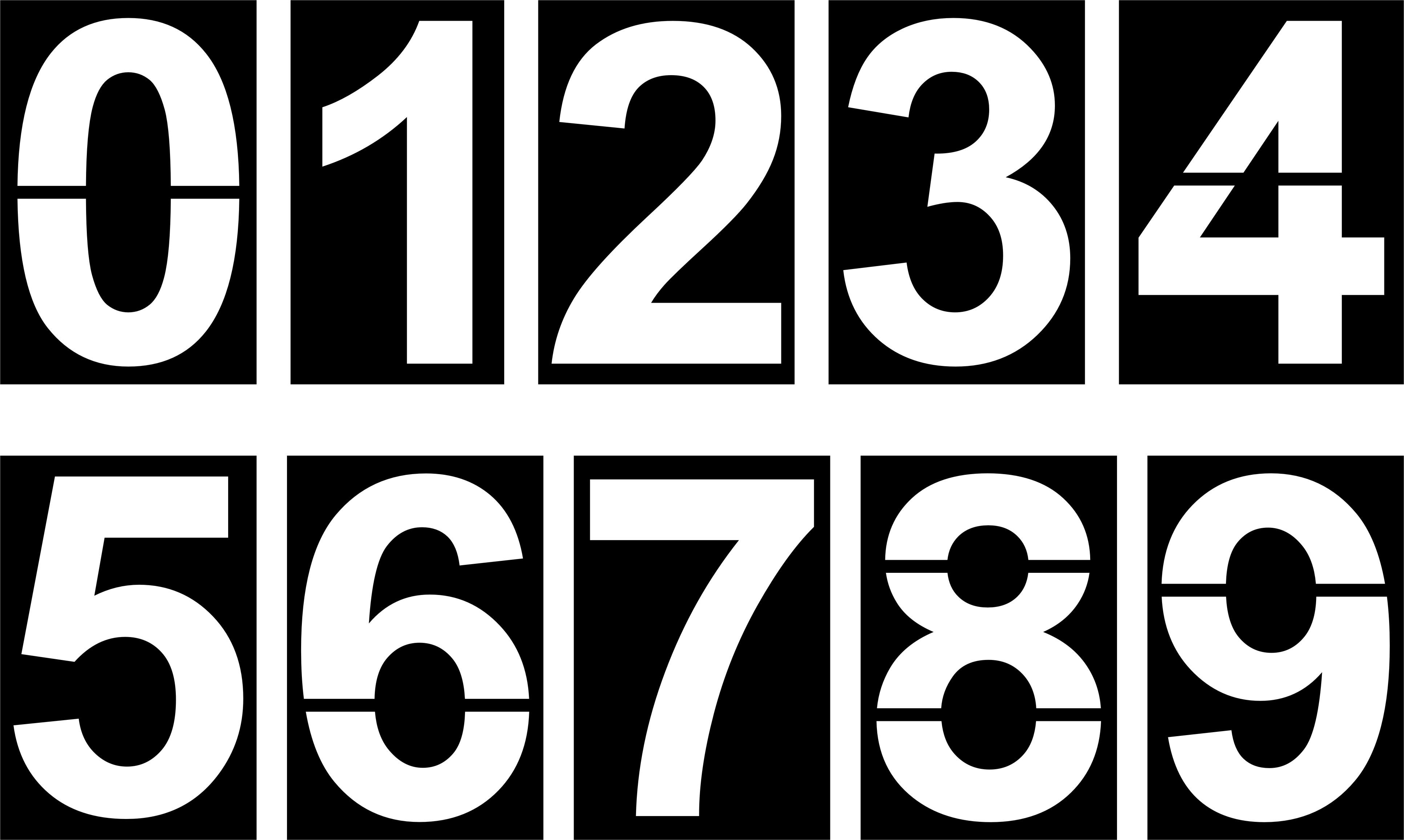 Coloriages à Imprimer Chiffre Deux Numéro 16267