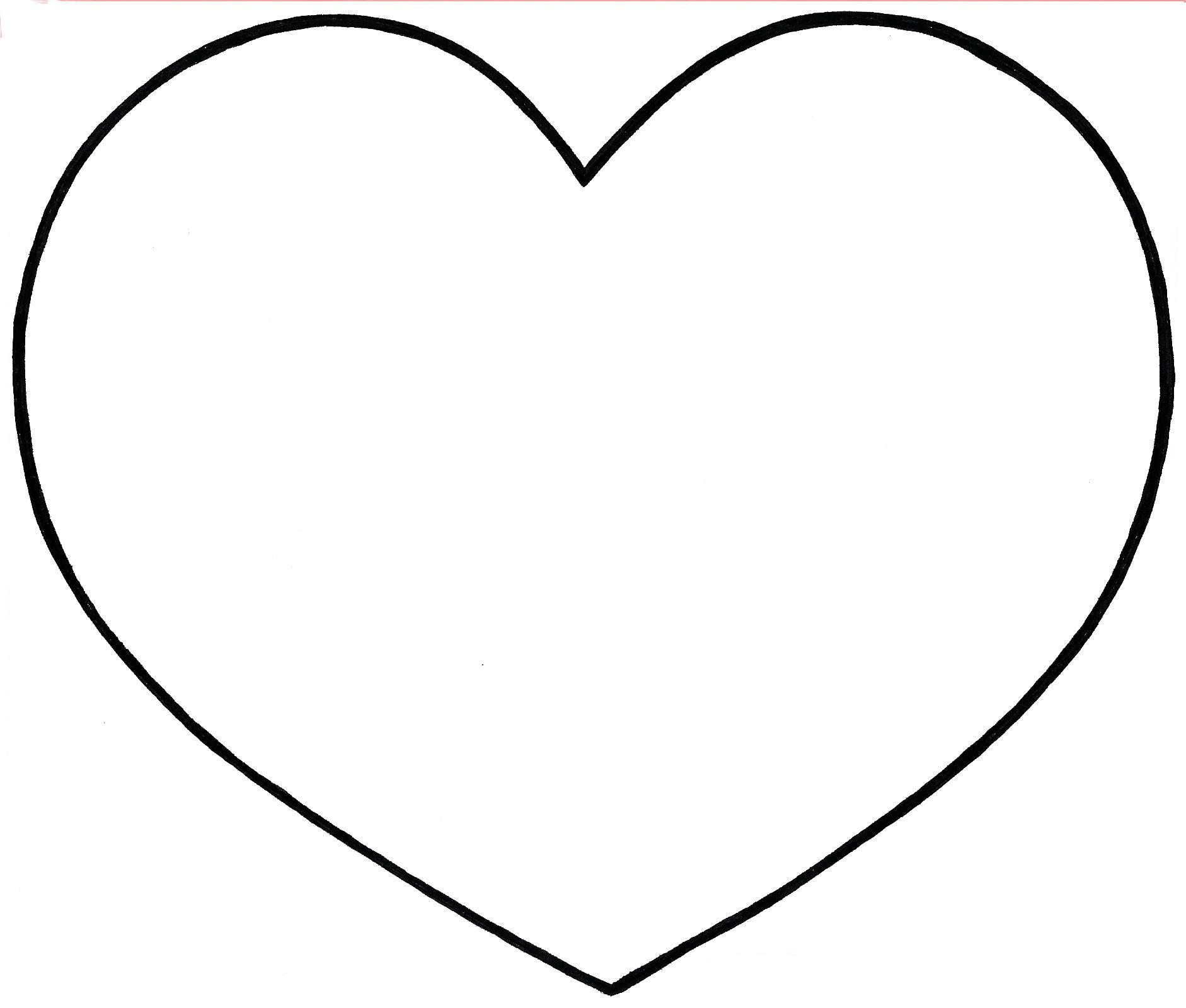 Dessins en couleurs à imprimer : Coeur, numéro : 448264