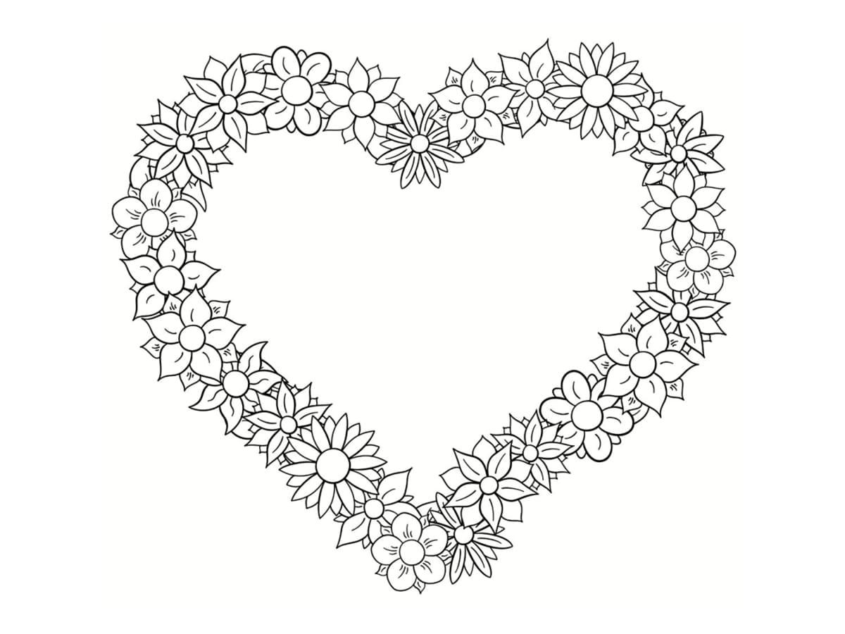Coloriages à imprimer : Coeur, numéro : c26a9ba1