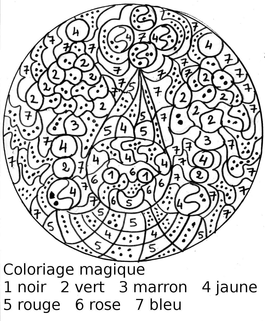 Coloriages A Imprimer Coloriages Magiques Numero 35af3499
