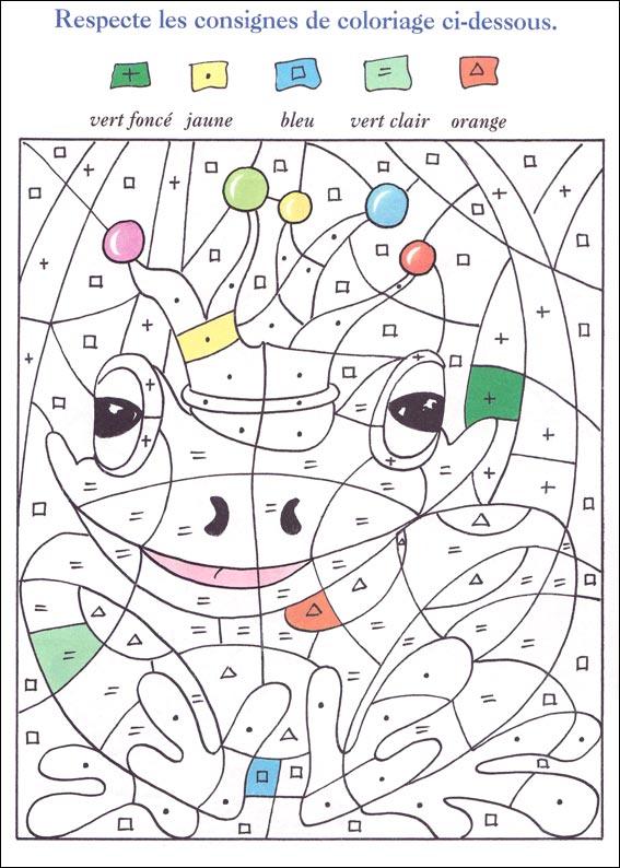Dessins en couleurs à imprimer : Coloriages magiques, numéro : 597961