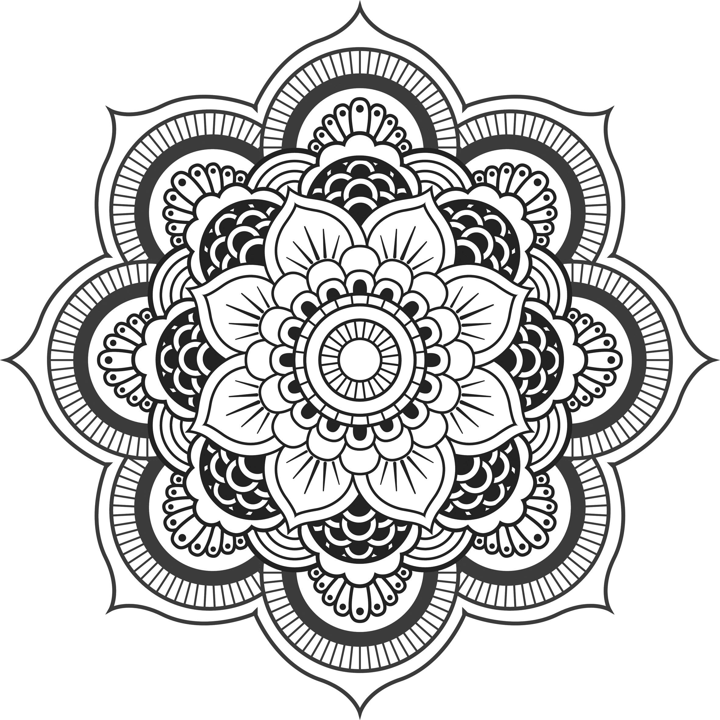 Coloriages A Imprimer Mandalas Numero 21a461c3