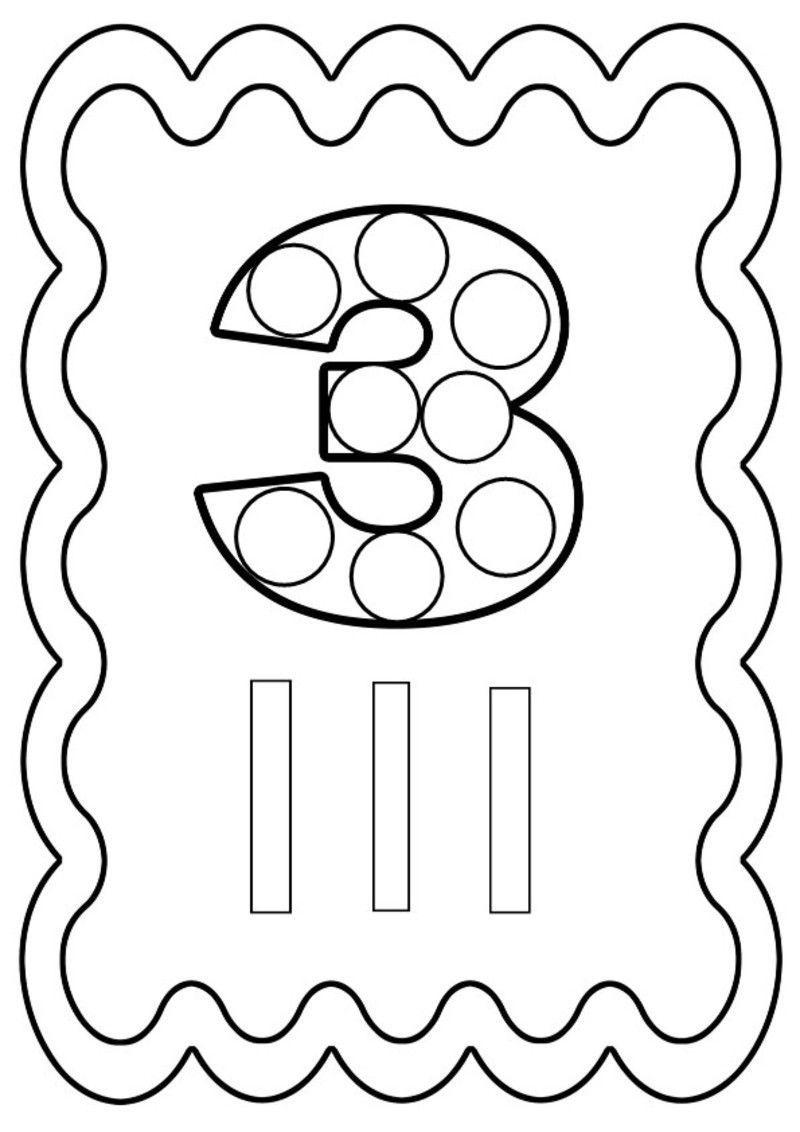 Coloriages à imprimer : Chiffres et formes, numéro : a150d347