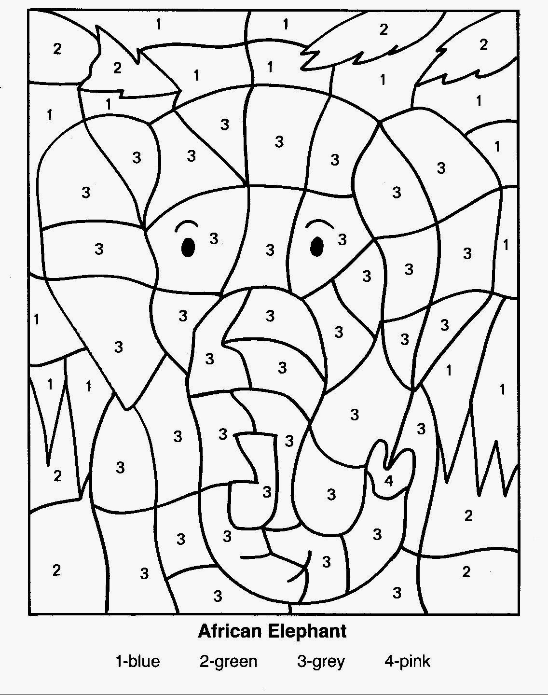 Coloriages à imprimer : Chiffres et formes, numéro : ae72545