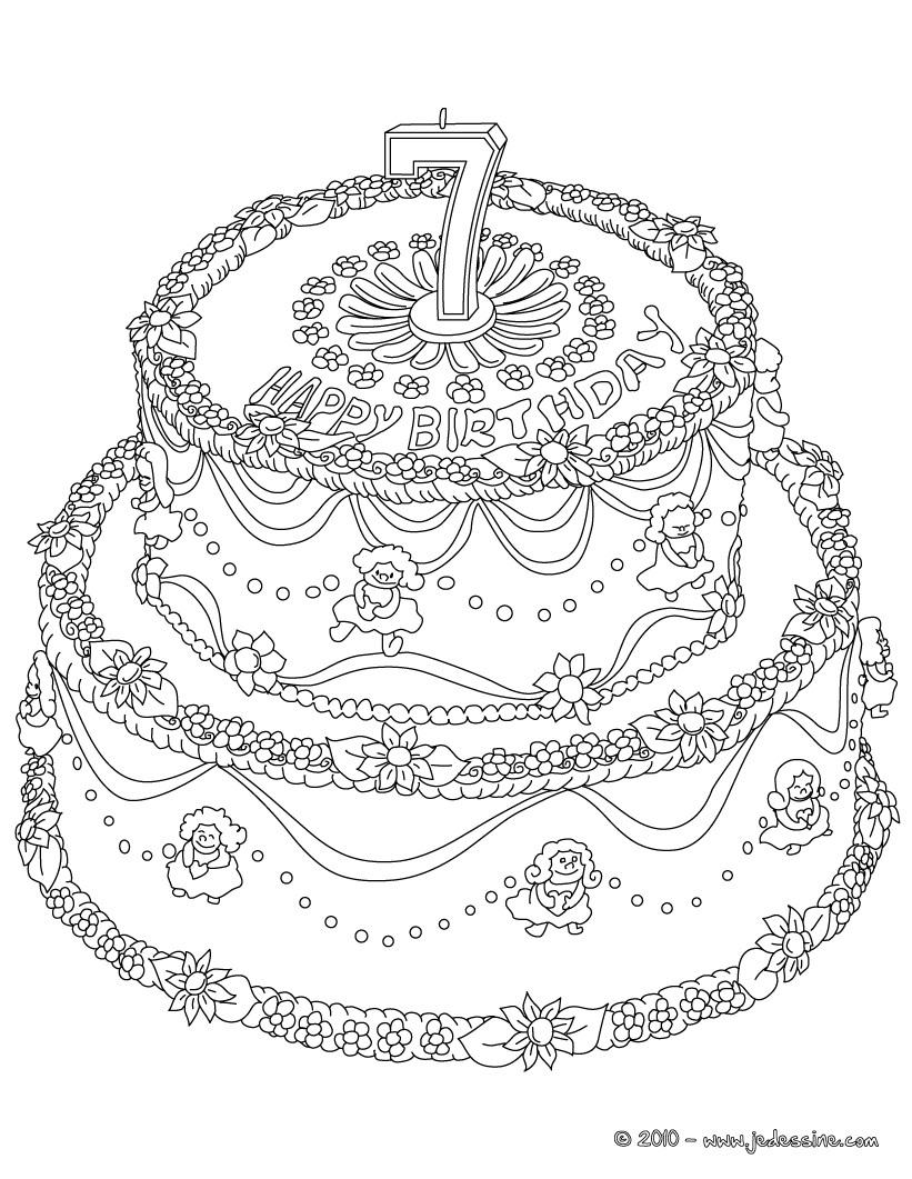 Coloriages à imprimer : Anniversaire, numéro : 142812