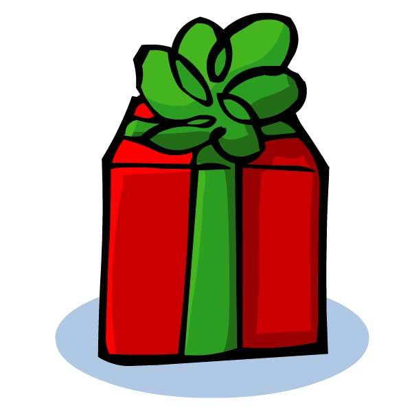 Dessin Cadeau Noel Couleur