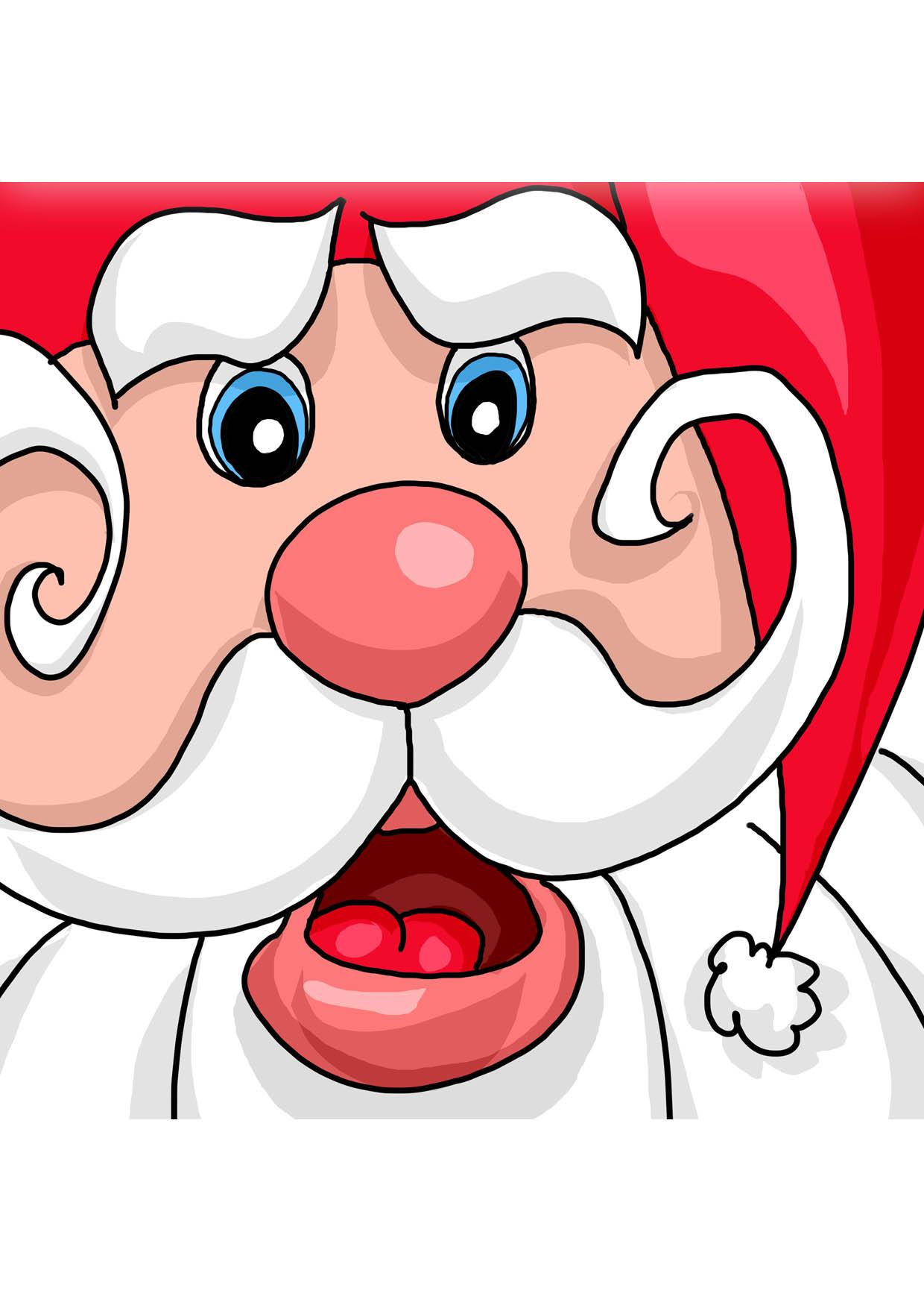 Dessins En Couleurs à Imprimer Père Noël Numéro 46817